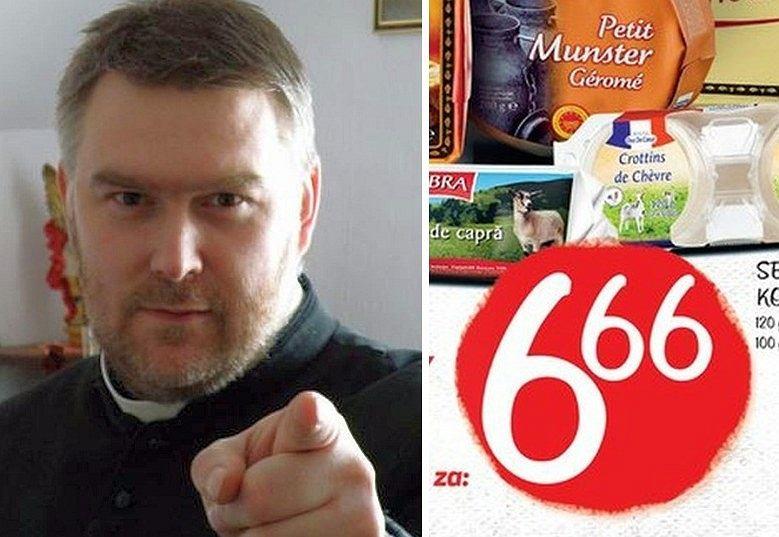 Ks. Grzegorz Daroszewski i reklama Lidla