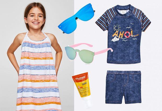 Jak ubrać dziecko na plażę? Moda plażowa dziecięca