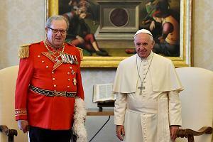 Watykan na wojennej ścieżce z kawalerami maltańskimi