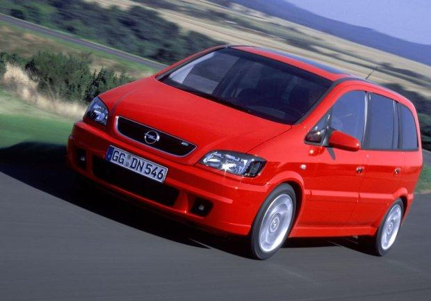 Opel Zafira OPC 2001