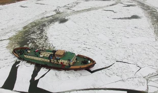 Stocznia Gryfia wygrała przetarg na budowę lodołamaczy dla Gdańska