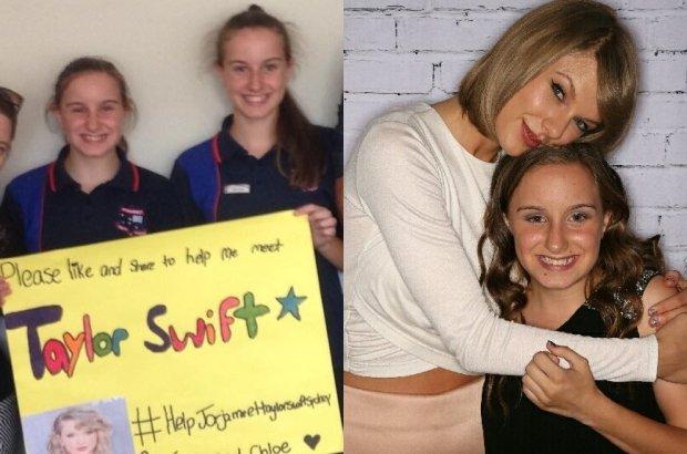 Jorja, Chloe i Taylor Swift