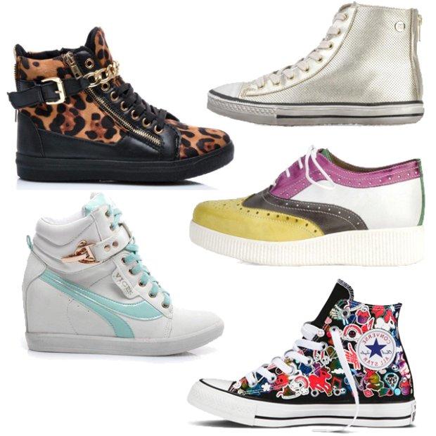 Sportowe obuwie na wiosn�