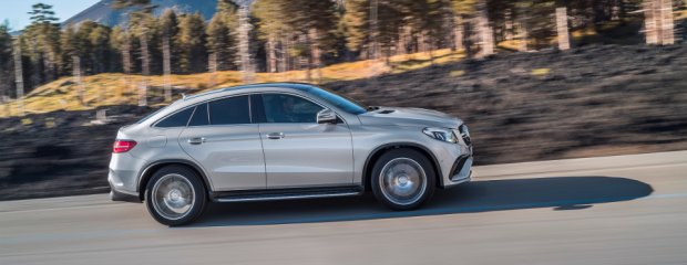 Mercedes GLE Coupe | Ceny w Polsce | W salonach od lipca