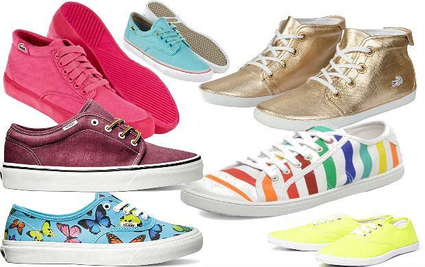 Idealne buty na wiosn�? Tenis�wki!