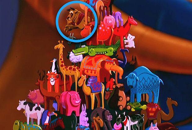 Zdjęcie numer 2 w galerii - 20 żartów ukrytych w filmach Disneya. Potrafisz rozpoznać je wszystkie? [ZOBACZ]