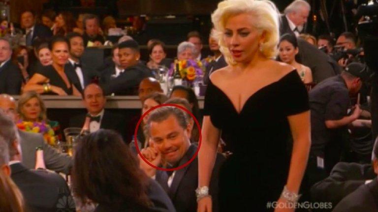Leonardo DiCaprio i Lady Gaga