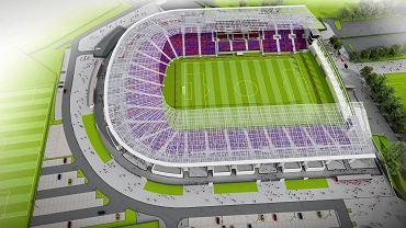 Stadion- wizualizacja