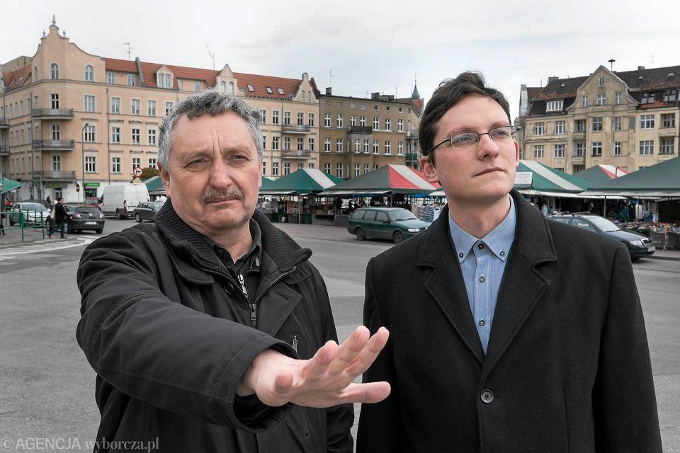 Jacek Bułat i Michał Bułat, architekci z Poznania