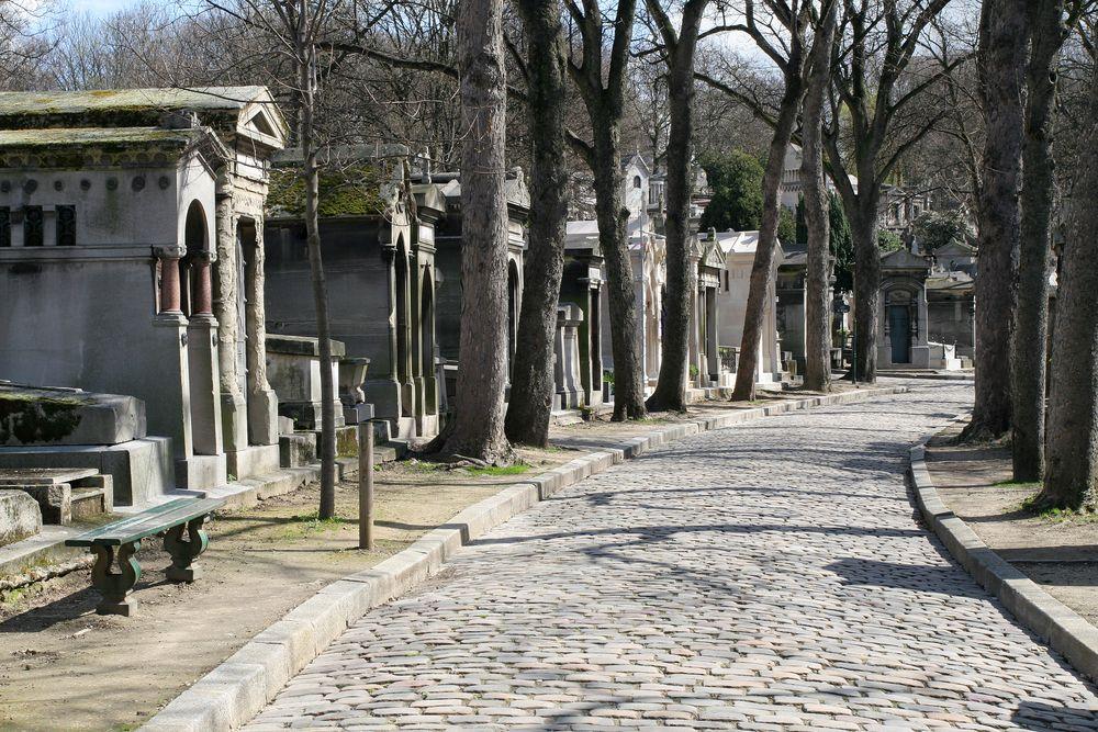 Cmentarz Pere-Lachaise w Paryżu, Francja / fot. Shutterstock