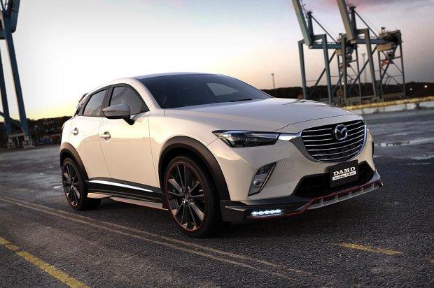 Mazda CX-3 by DAMD | Nowy wygl�d