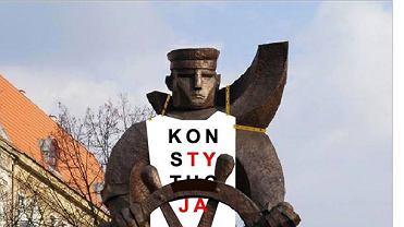 Tak od soboty będzie wyglądać pomnik Marynarza na pl. Grunwaldzkim w Szczecinie