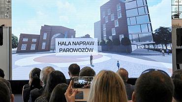Prezentacja Urzędu Miasta modelu miasta 3D oraz koncepcji zagospodarowania m.in. Wolnych Torów