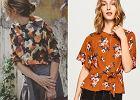 Bluzki w kwiaty na jesień