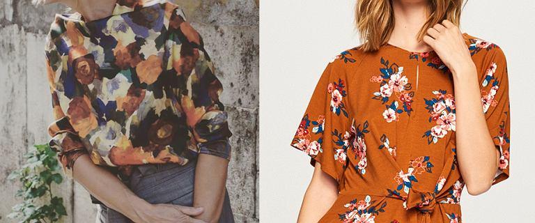 Bluzka w kwiaty: piękne modele do jesiennych stylizacji