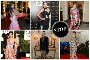 Modowe wpadki 2013: kto rozczarowa�, kto negatywnie zaskoczy�, a kto powinien natychmiast zmieni� stylist�? [POLSKA i �WIAT]