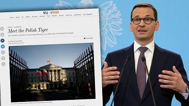 Premier Mateusz Morawiecki opublikował tekst w Wall Street Journal