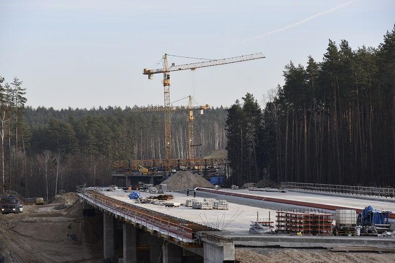 Budowa drogi S7 Ostróda - Olsztynek