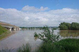 W Sandomierzu woda już opada, ale zagrożone okolice Tarłowa [AKTUALIZACJA]