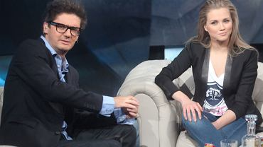 Kuba Wojewódzki i Agnieszka Kaczorowska