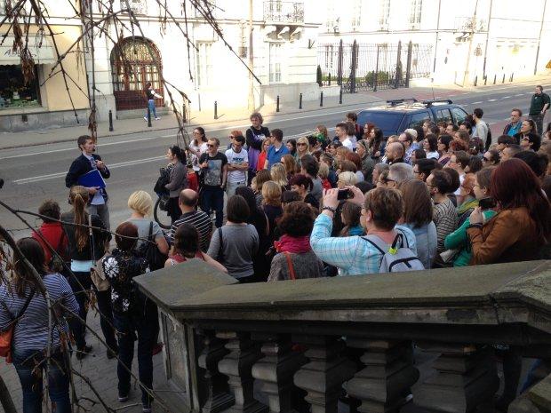 Darmowe spacery Warszawa