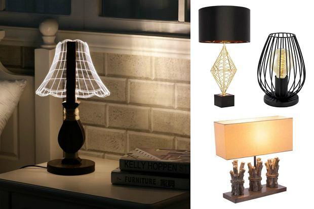 Lampki nocne o nietypowym designie