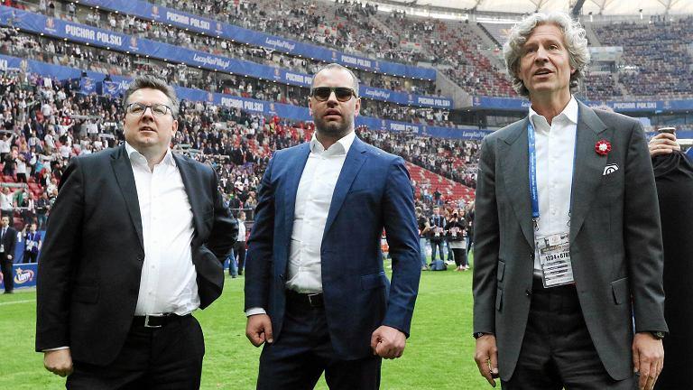 Właściciele Legii na finale Pucharu Polski (Lech - Legia 0:1) w maju 2016 r.