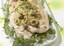 Pieczona ryba na zielono - ugotuj
