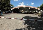 Kielce. Stacja paliw przy ul. �ytniej na kr�tko przed przebudow�.