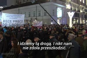 Obchody miesięcznicy smoleńskiej. Kaczyński: Tylko oszuści mogą twierdzić, że to ma coś wspólnego z demokracją