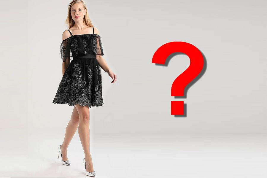 08fe51e826 Czarna sukienka na wesele czy wypada