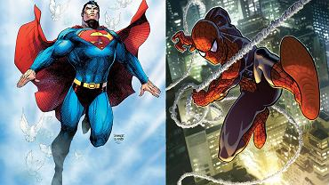 Superman (DC Comics) kontra Spider-man (Marvel)