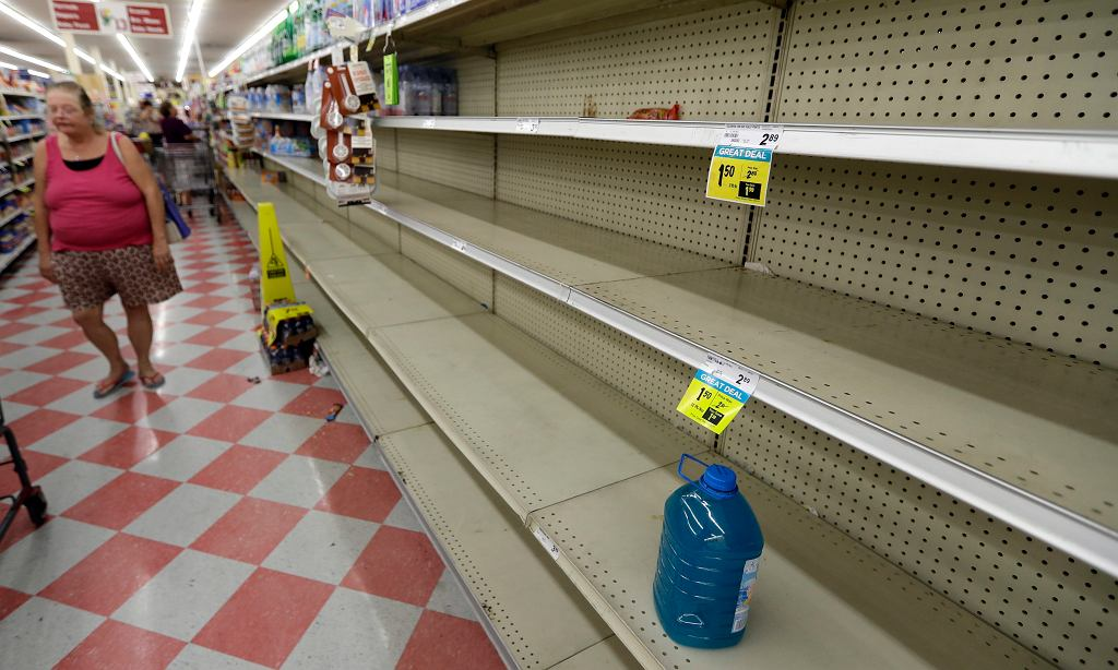 Przygotowania do huraganu Harvey