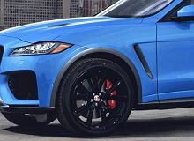 Jaguar F-Pace SVR - pięciolitrowe V8 i 4,1 s do setki