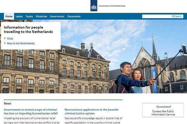 Rosyjscy hakerzy zaatakowali strony internetowe rządu Holandii