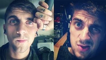 """Selfie jako dowód rosyjskiej inwazji na Ukrainę. Rosyjski żołnierz Sanja Sotkin umieszczał na Instagramie zdjęcia z wyrzutnią rakiet Buk, za pomocą której - zdaniem władz Ukrainy - zestrzelono malezyjskiego boeinga. Dane lokalizacyjne fotografii wskazywały, że przebywał w ukraińskiej miejscowości Krasnyj Derkul, na terenach kontrolowanych przez separatystów. """"Pracuję na Buk-u"""", """"granica pod kontrolą"""" - opisywał swoje selfie"""