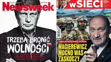 """Balcerowicz ostro: """"Bro�my si� przed pisizmem"""". A Macierewicz planuje """"zaskakuj�ce zmiany w MON"""""""