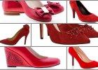 Czerwone buty - idealne na walentynki