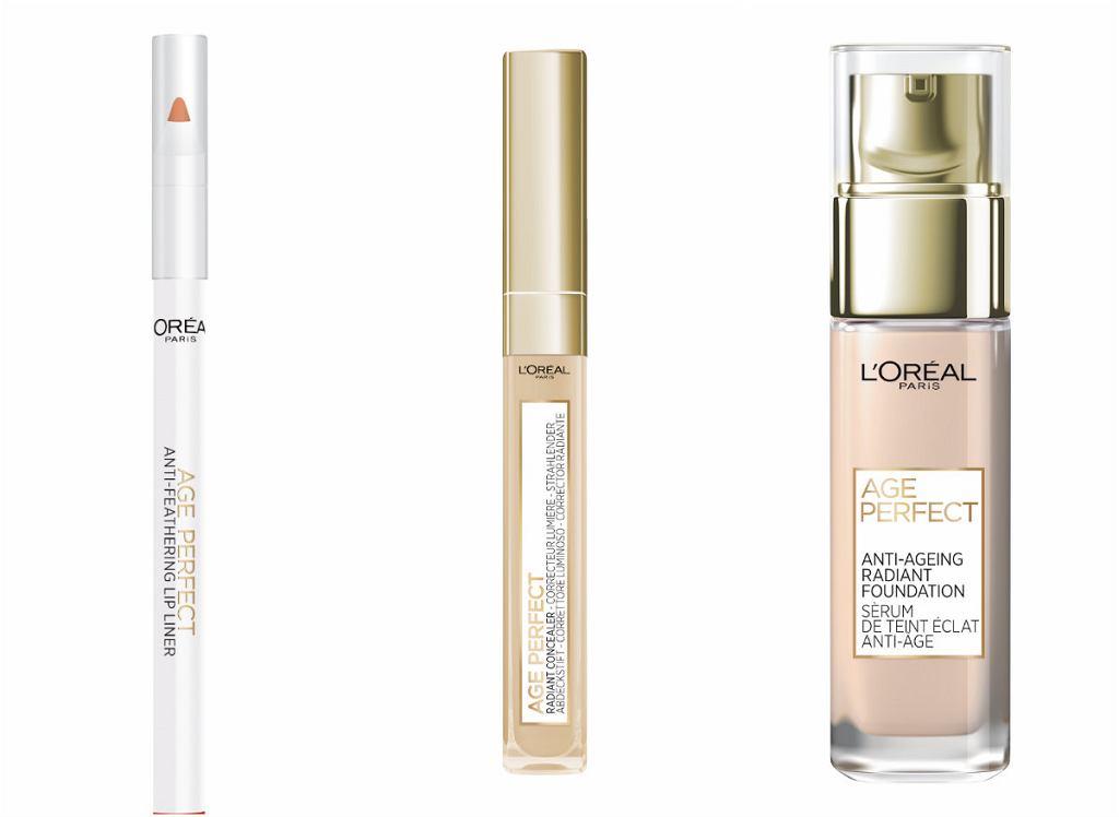 L'Oréal Paris wprowadza gamę kosmetyków do makijażu skóry dojrzałej