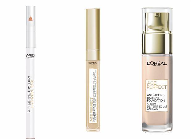 L'Oréal Paris wprowadza gamę kosmetyków do makijażu skóry dojrzałej. Gdzie ją kupimy?