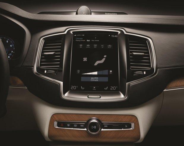 Nowe Volvo XC90 | Multimedia na pok�adzie