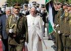 """Papie� Franciszek przyby� do Betlejem. """"Ka�de jego s�owo b�dzie tu bacznie �ledzone"""""""