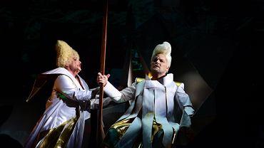 Judith Nemeth i Tomasz Konieczny podczas spektaklu 'Walkiria' w Narodowej Operze Węgier.