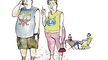 Traktat o Januszach [ZIEMOWIT SZCZEREK], Ilustracja Jacek Gawłowski