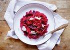 Jedzenie na czasie: risotto z burakami i tymiankiem