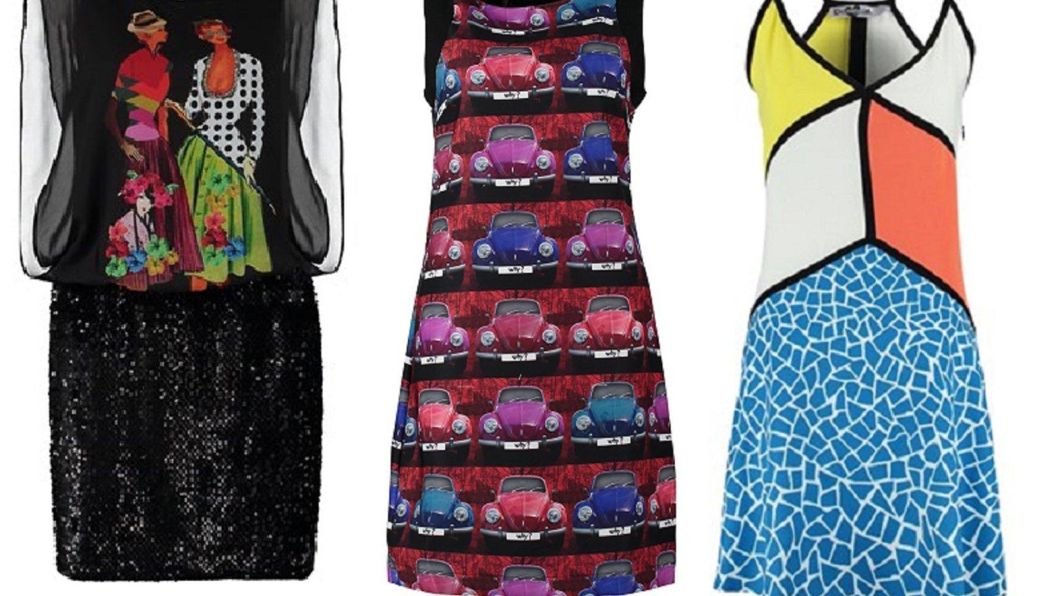 f7891873a3 Oryginalne sukienki Desigual - musisz je mieć!