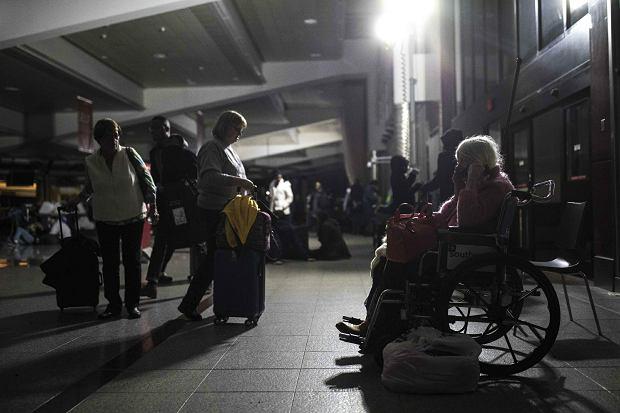 Ciemności na lotnisku w Atlancie