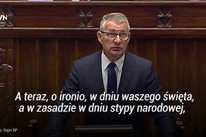 Służba Celna obchodzi dziś swoje święto. Taki 'prezent' PiS przynosi im do Sejmu