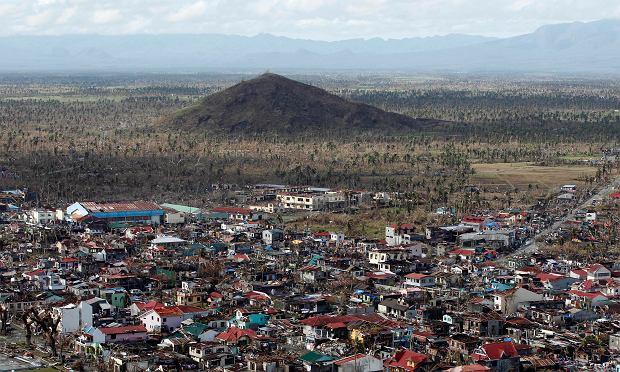 Tajfun Mangkhut przeszedł przez Filipiny