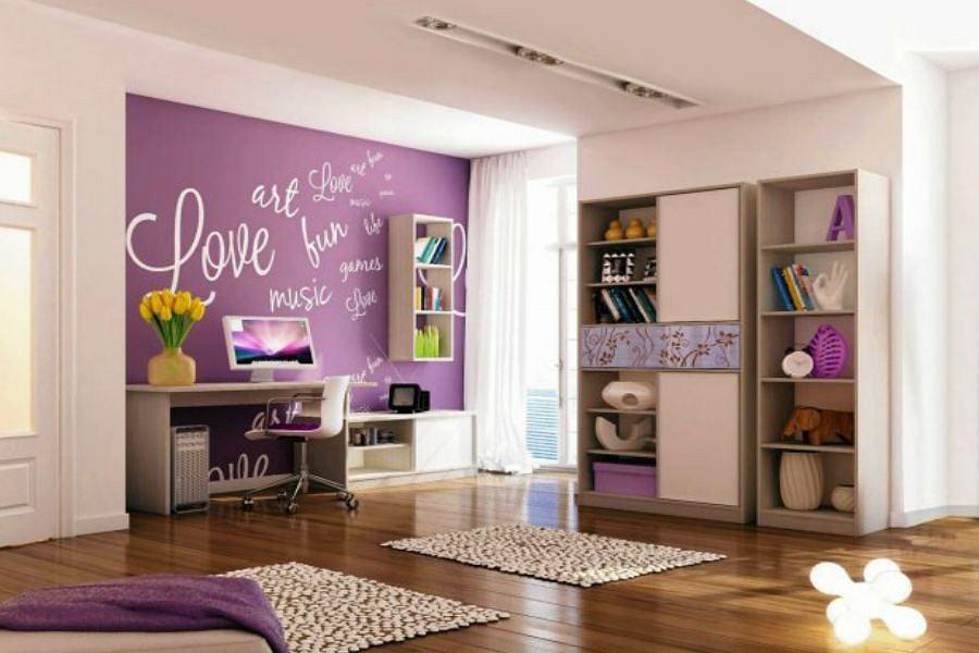 fioletowe dodatki do mieszkania